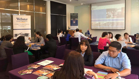 WEBA Asia Recruitment Tour for High Schools