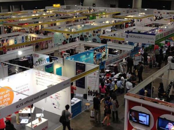 Exhibition Stand Design Hong Kong : Student recruitment universities education workshops